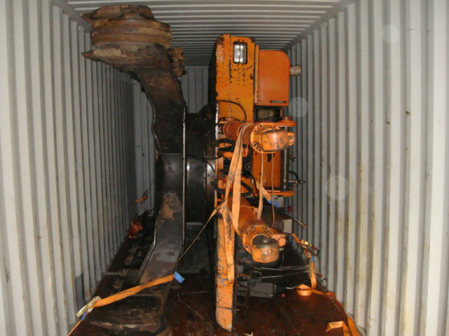 Hitachi EX120-1 loaded into container and sold to customer in south east Asia