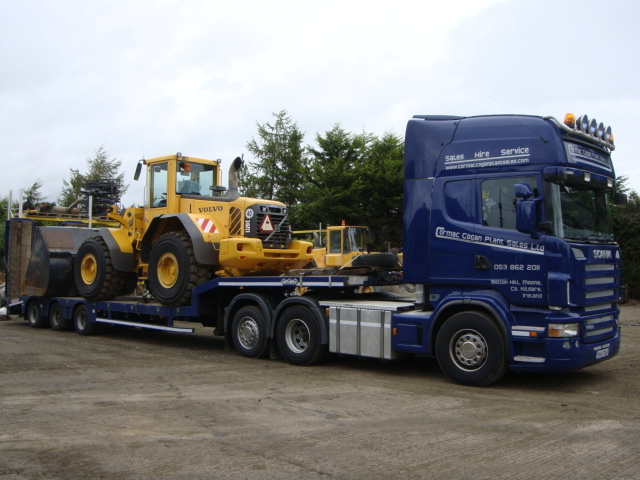 Volvo L120E sold to Greyhound Recycling, Co.Dublin
