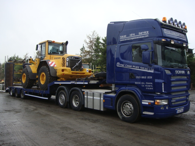Volvo L120F sold to customer in Finland