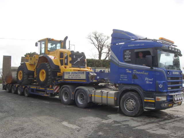 Volvo L150G sold to Thomas Donohue Plant Hire, Co.Carlow