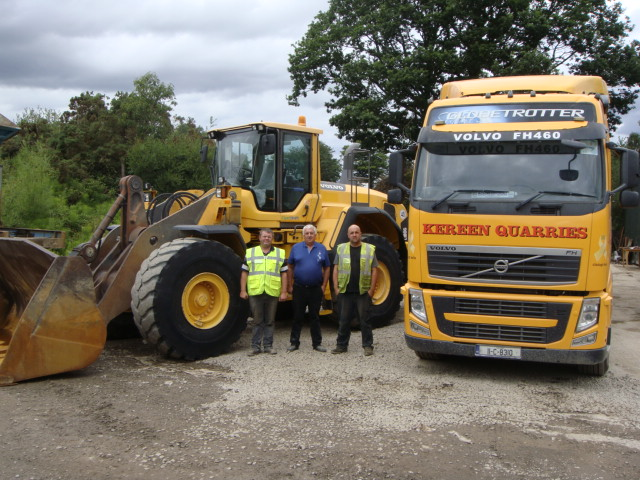 1 of 2 Volvo L180G sold to Kereen Quarries Ltd, Co.Waterford