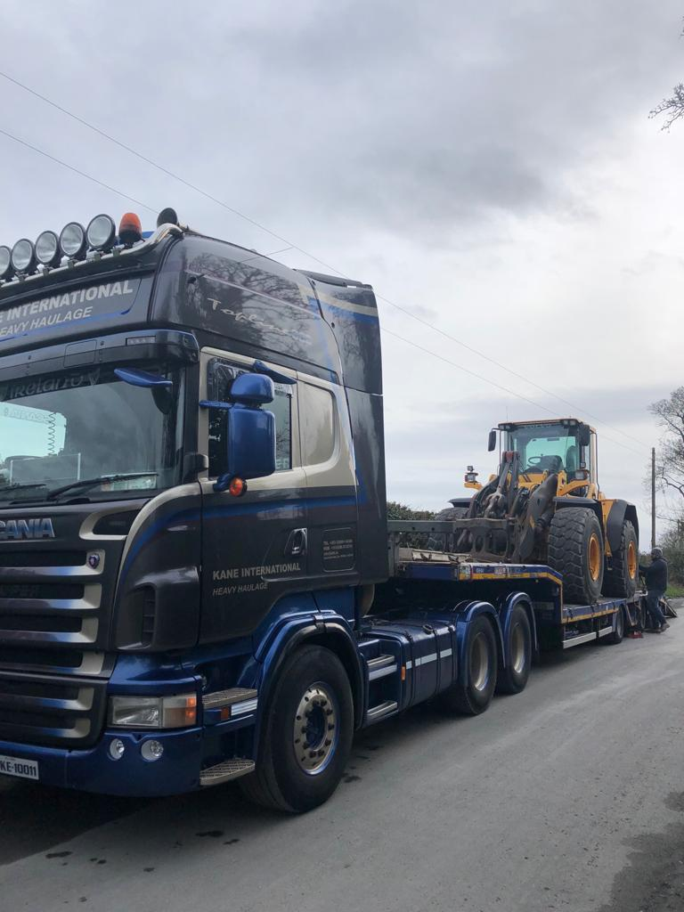 Volvo L120F sold to customer in Sweden