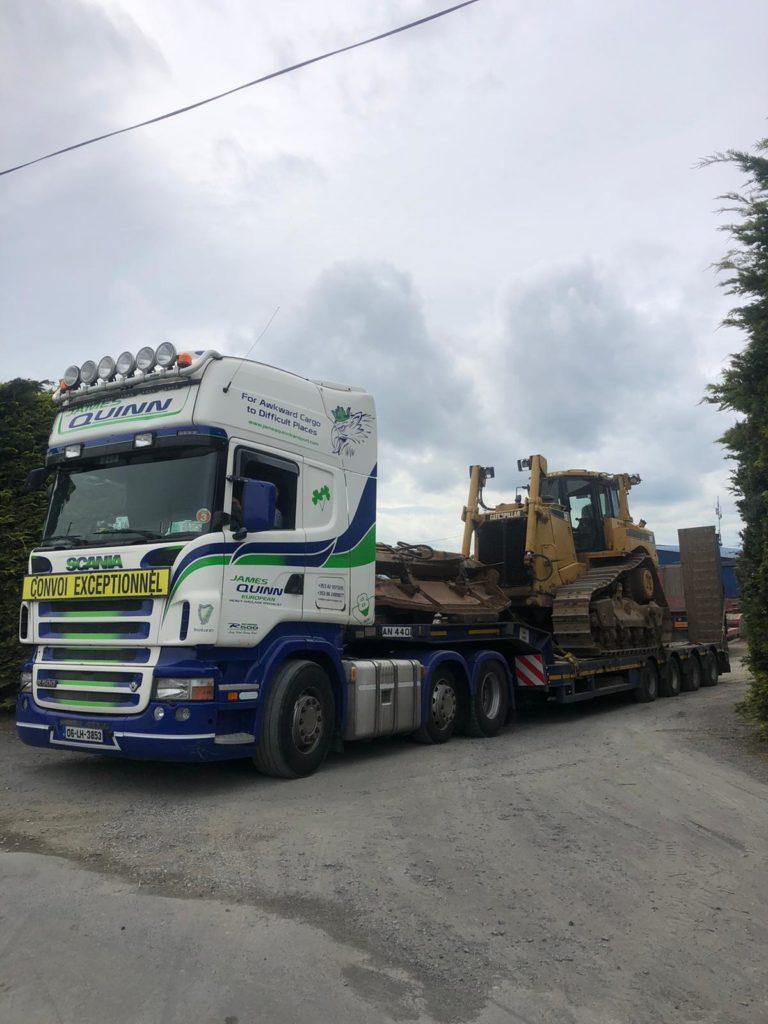 Cat D8T sold to customer in Holland