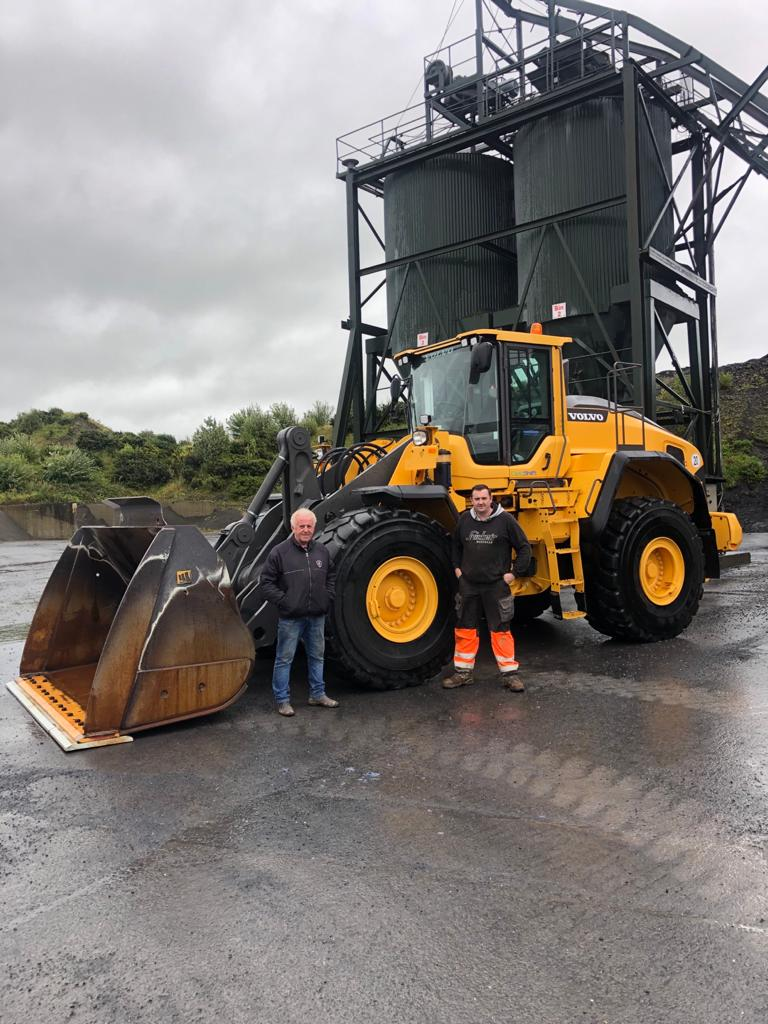 Volvo L150H sold to Owens Tarmacadam Ltd in Co.Westmeath