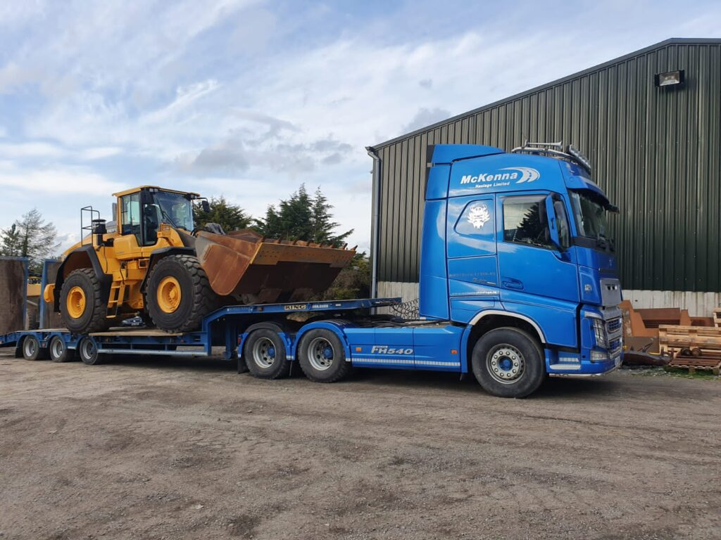Volvo L150H sold to Mckenna Haulage, Co.Kildare