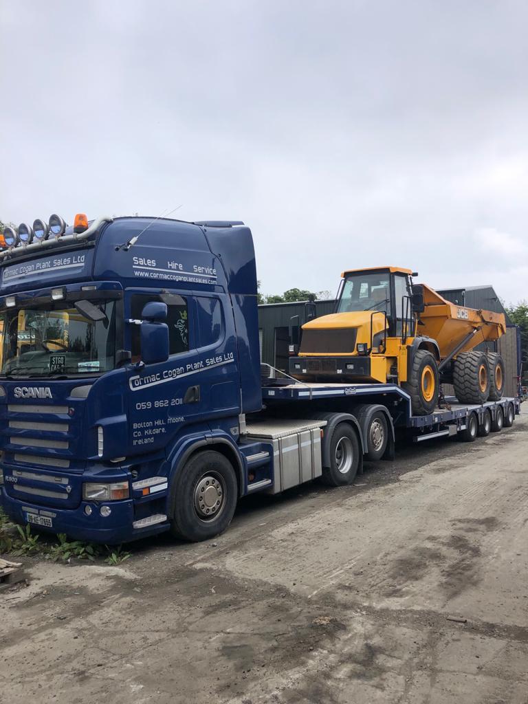 JCB 722 sold to customer in Co.Kilkenny