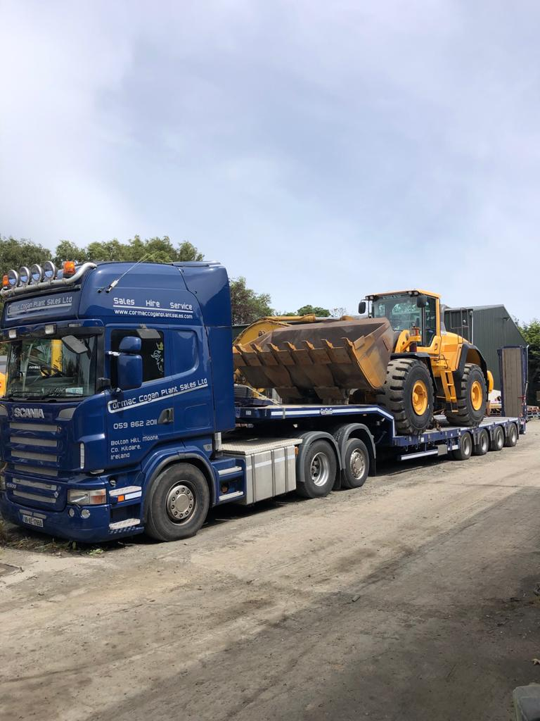 Volvo L180G sold to local sand & gravel company in Co.Wicklow