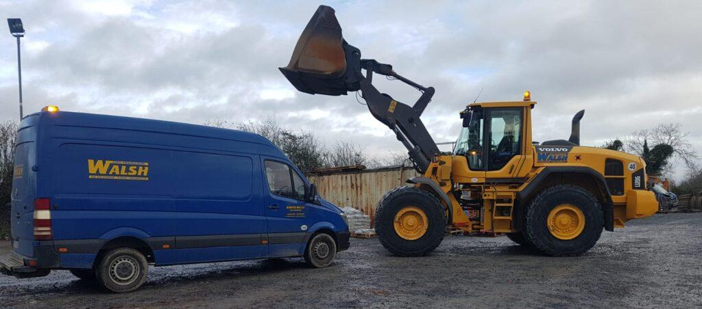 Volvo L120G sold to Walsh Civil Engineering in Co,Kildare