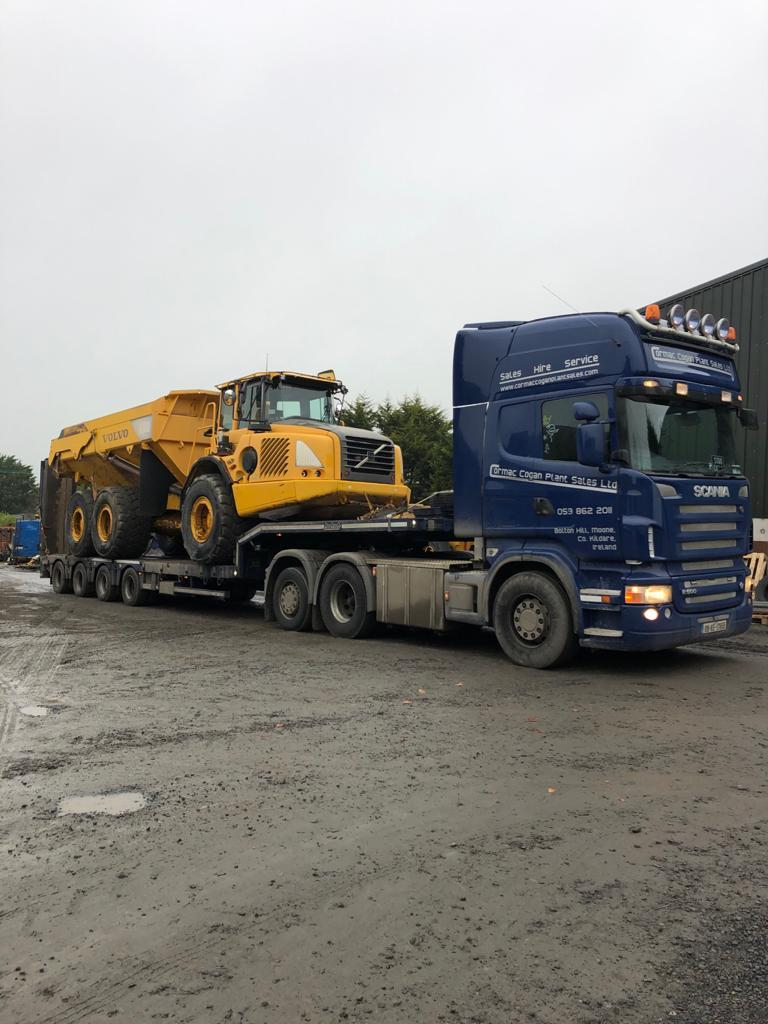Volvo A30D sold to MSK Silversands Ltd in Screen, Co.Wexford