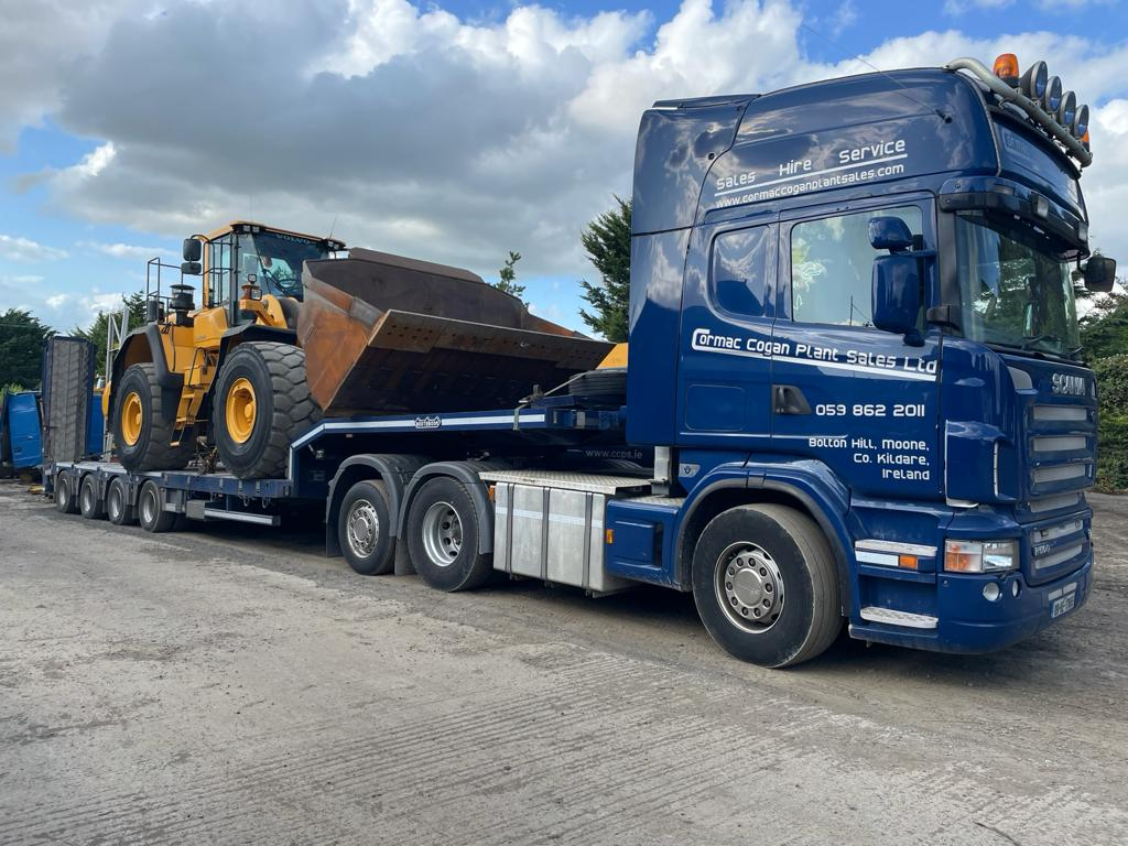 Volvo L180G sold to sand and gravel company in Co.Limerick